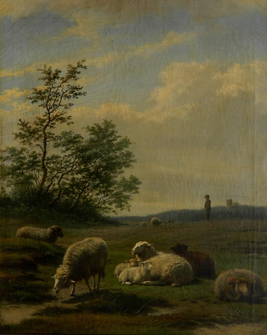 Frans Lebret oil
