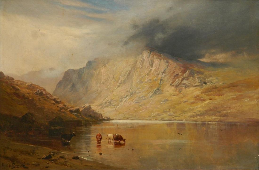 Alfred de Breanski Sr. oil