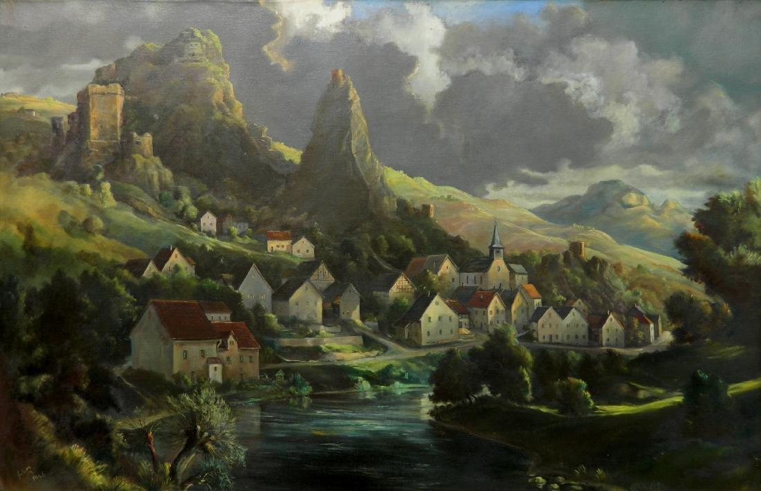 Hans Muller-Ried oil