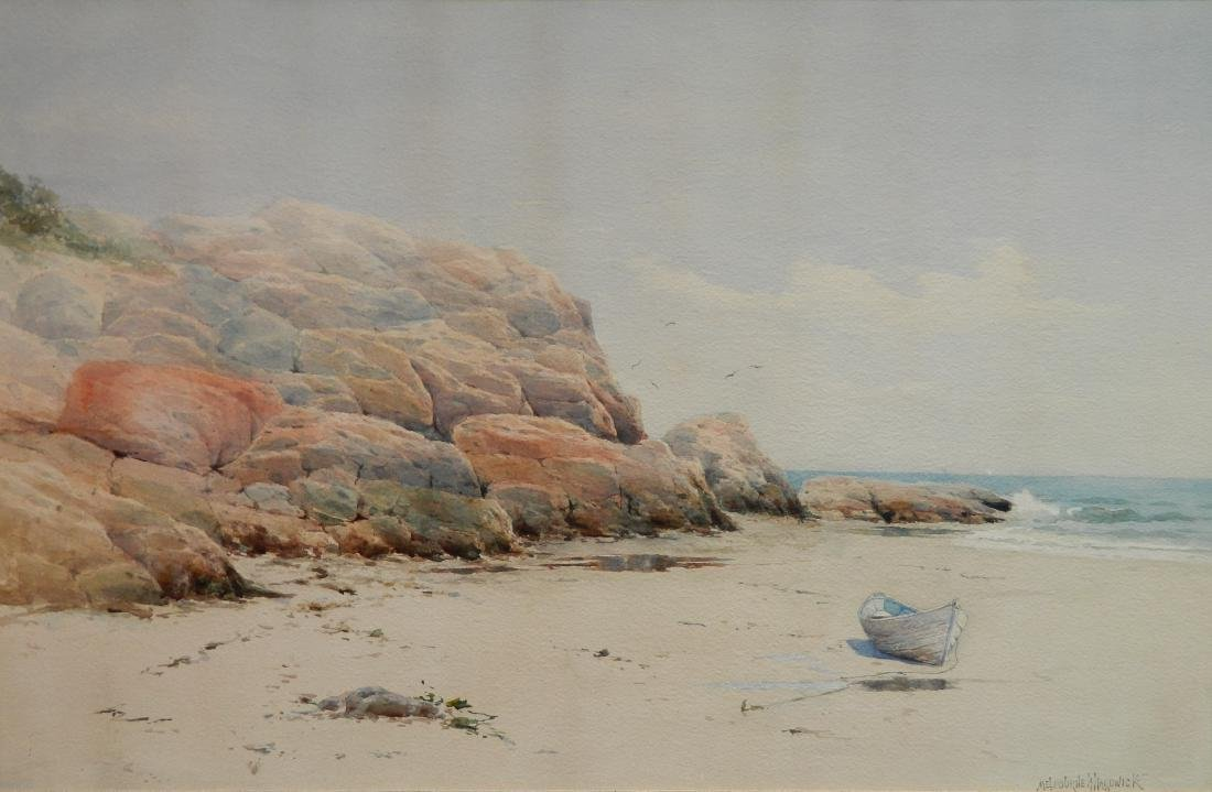 Melbourne Hardwick watercolor