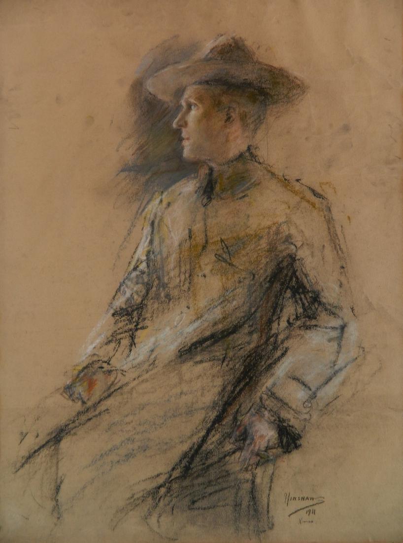Glenn C. Henshaw chalk pastel