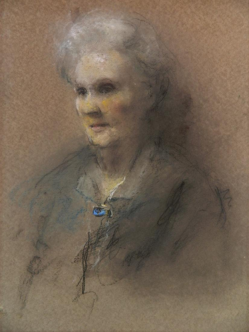 Glenn C. Henshaw pastel