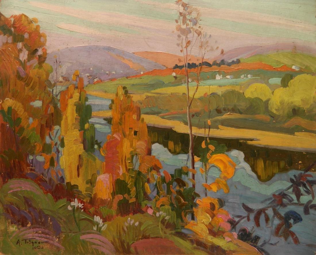 Arthur Tilgner oil