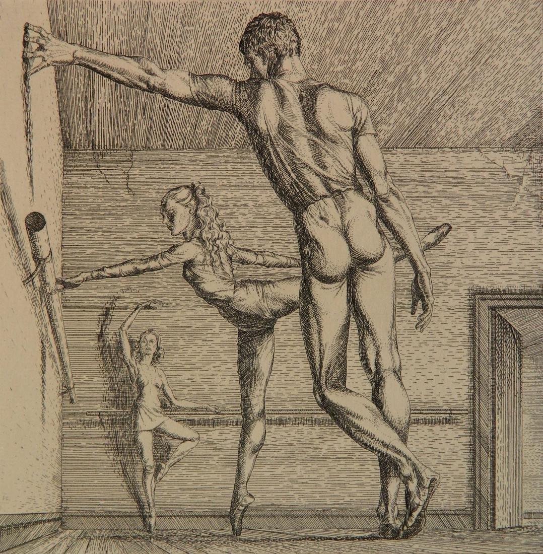 Paul Cadmus etching