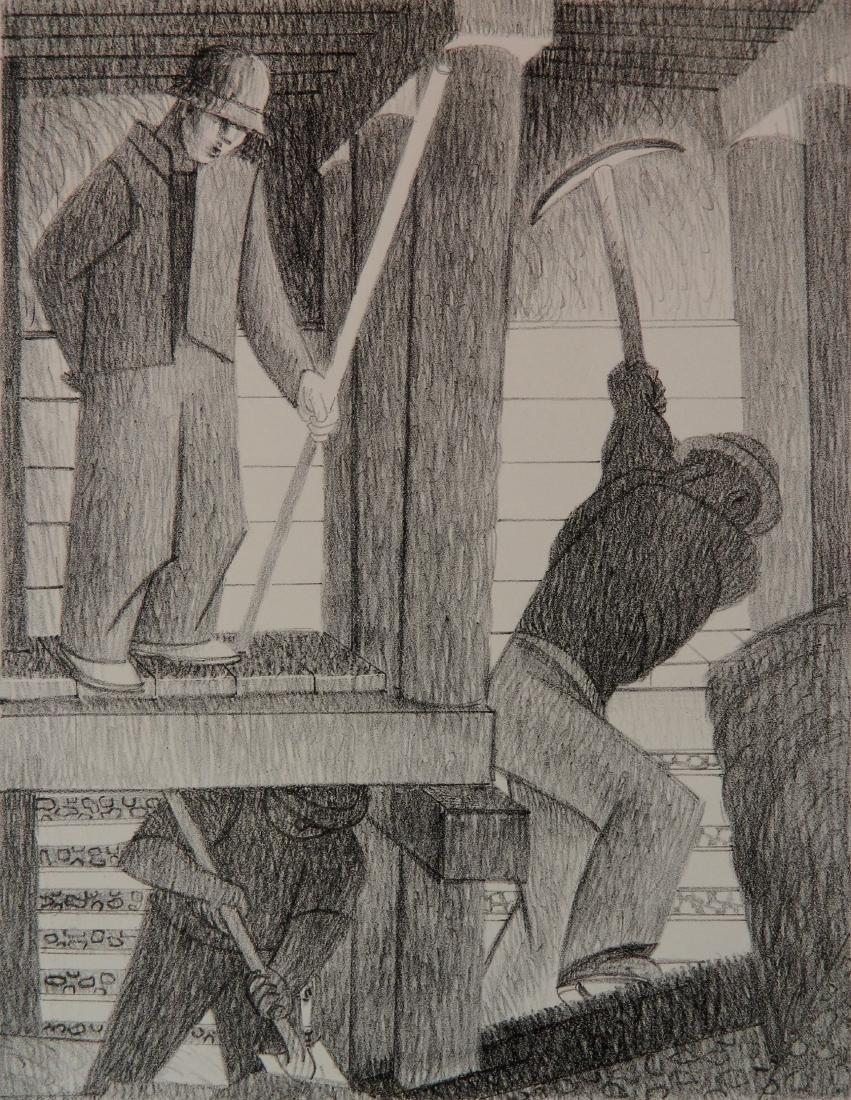 John Haley lithograph