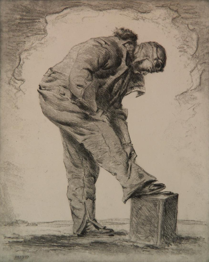 William Heaslip aquatint