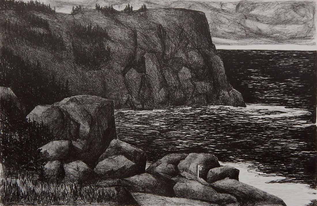 Jacqueline Hudson lithograph