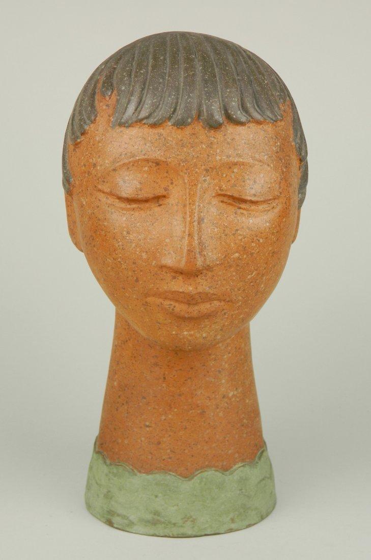 Walter A. Sinz ceramic sculpture
