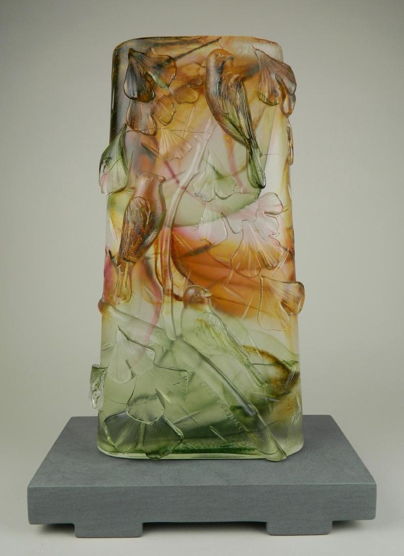 Brent Marshall glass sculpture