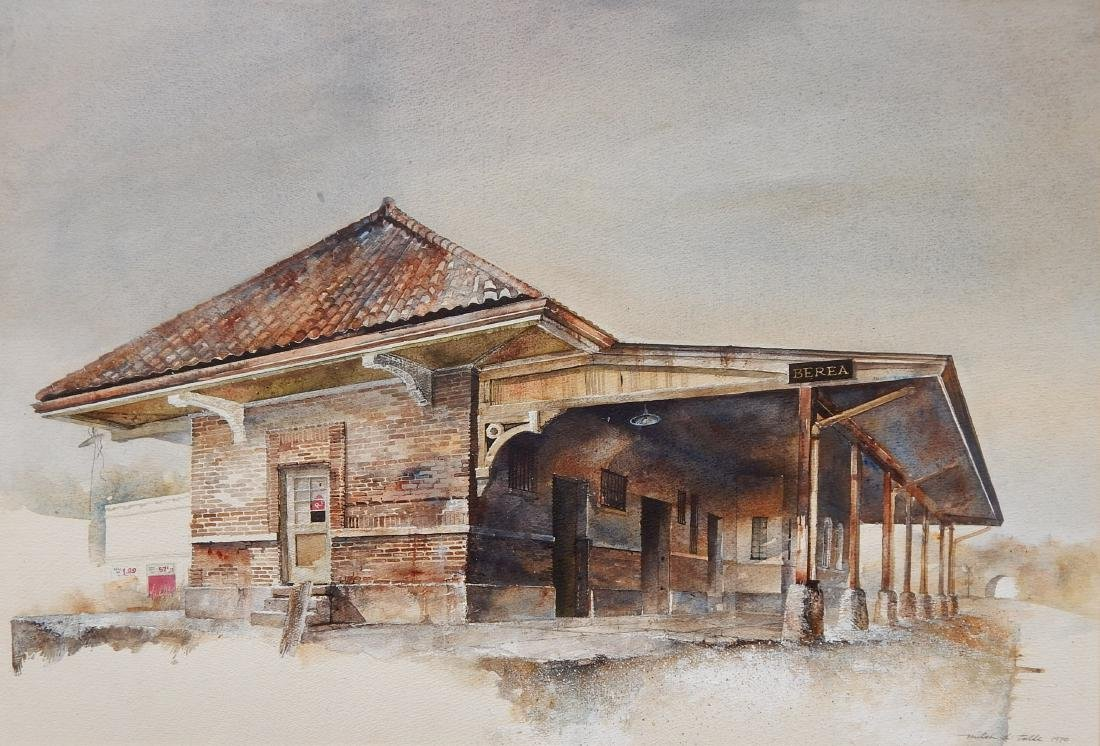 Mitch D. Tolle watercolor