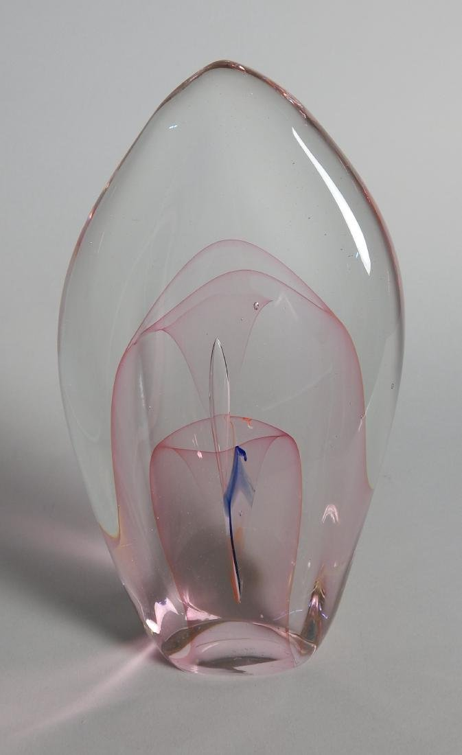 Dominick Labino glass sculpture