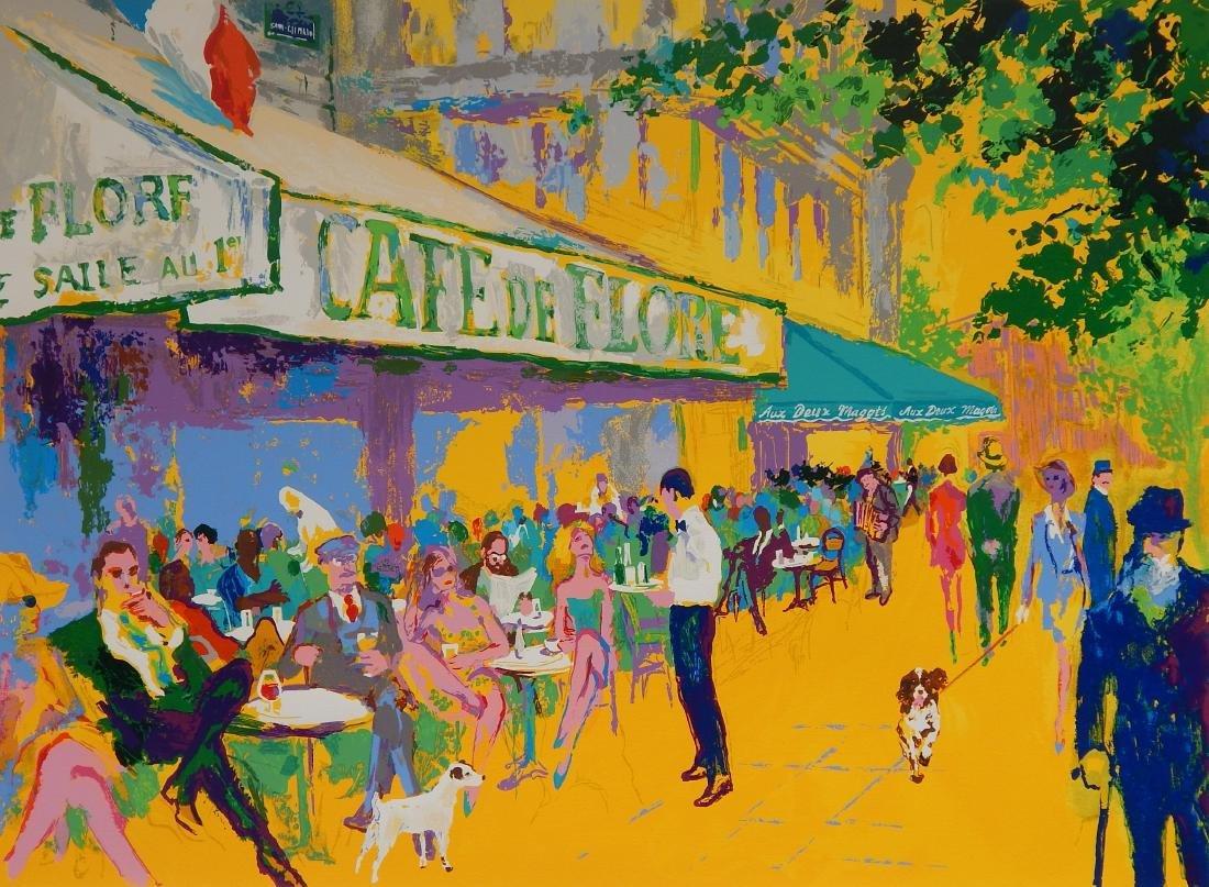 Leroy Neiman silkscreen in color