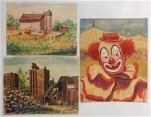 Michael Dadante 25 paintings and drawings