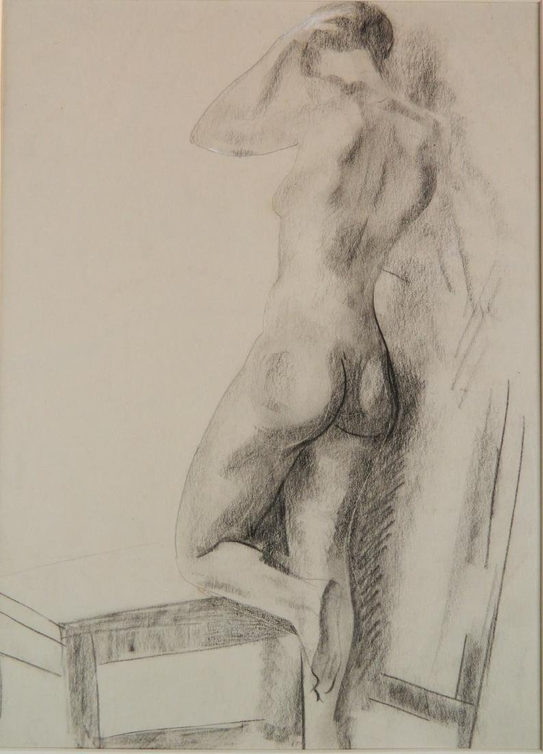 William Sommer charcoal
