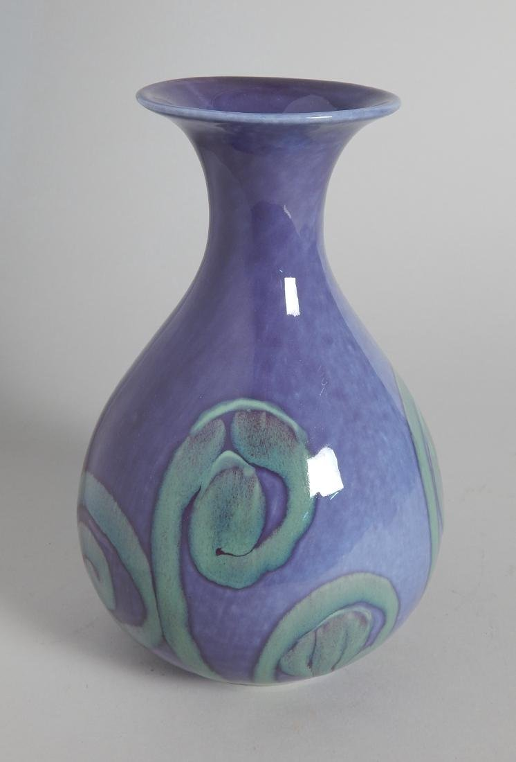 Cowan Pottery hand-decorated vase