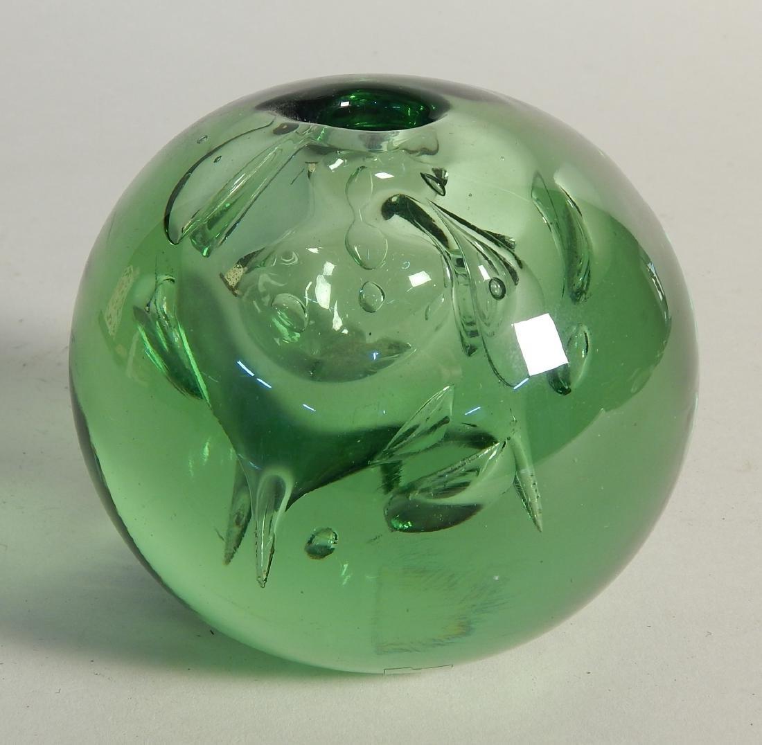 Dominick Labino glass vessel