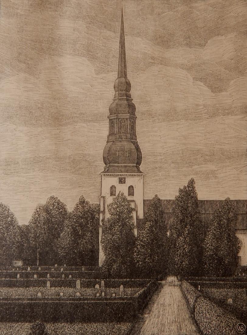 W. Bernhard wood engraving