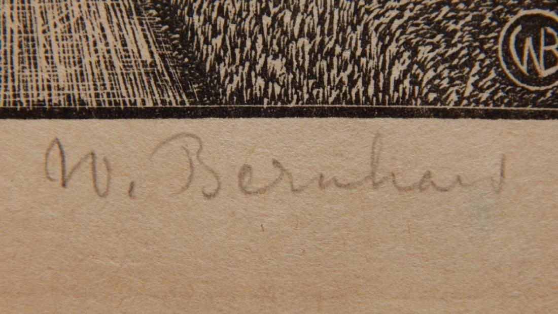 W. Bernhard wood engraving - 3