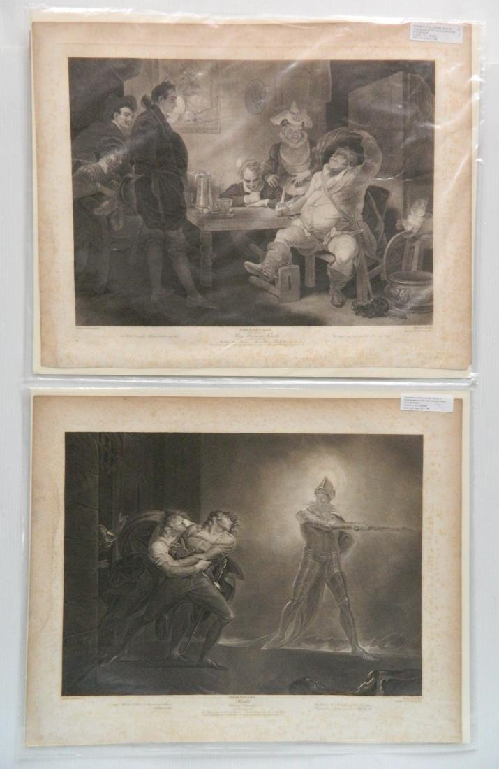 J. J. Boydell 2 engravings