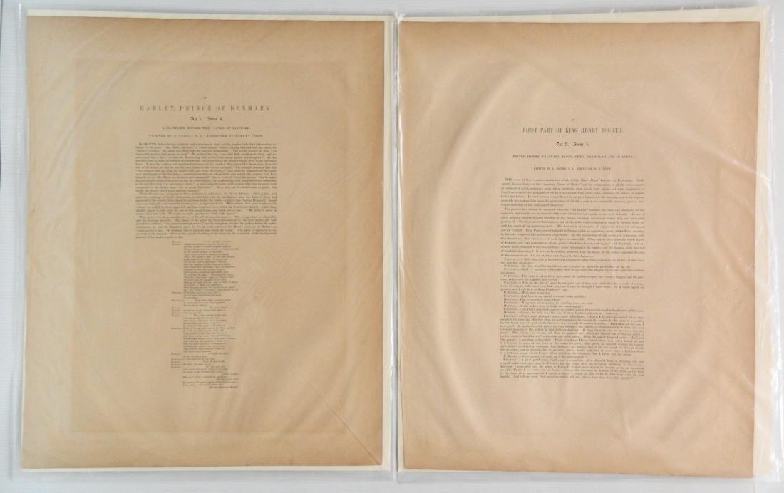 J. J. Boydell 2 engravings - 2