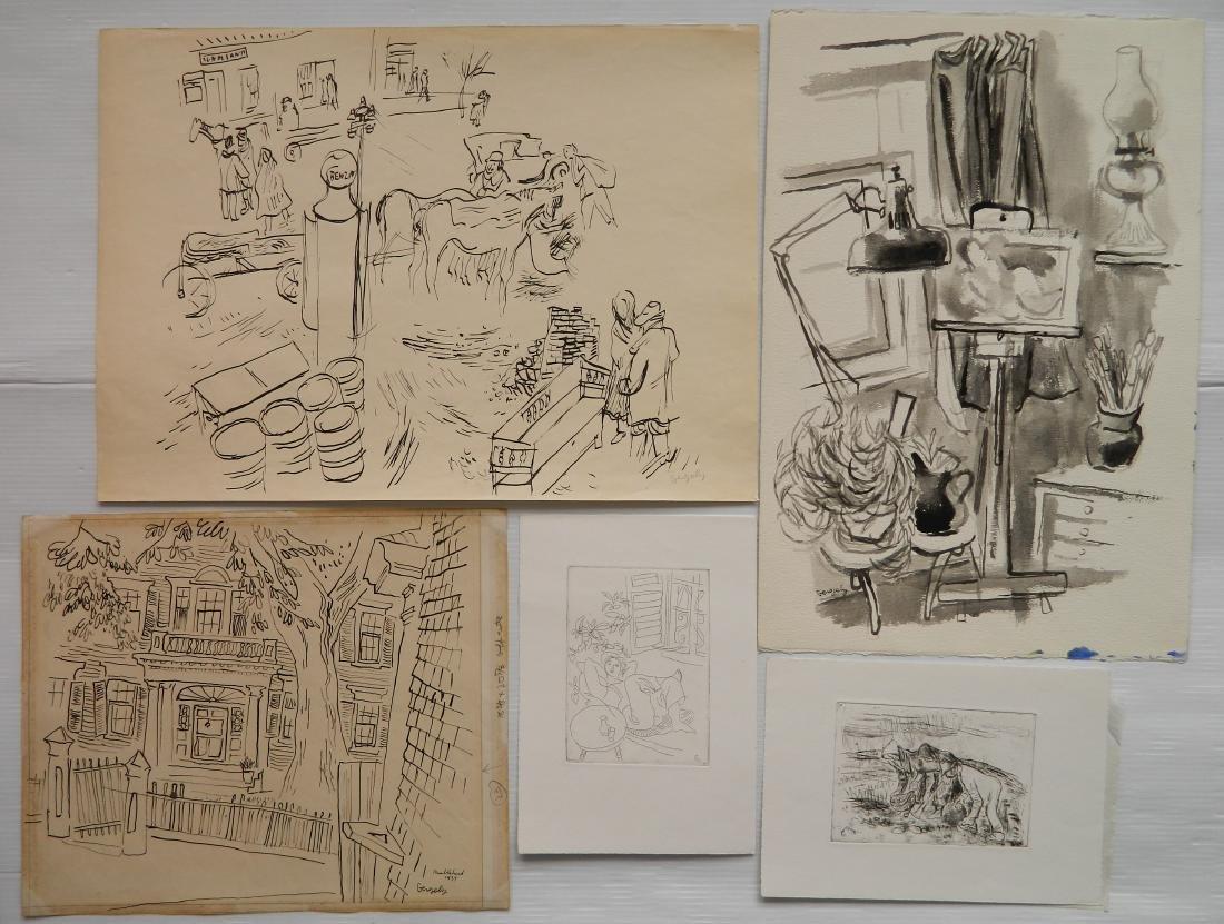 Tibor Gergely 5 works - 3