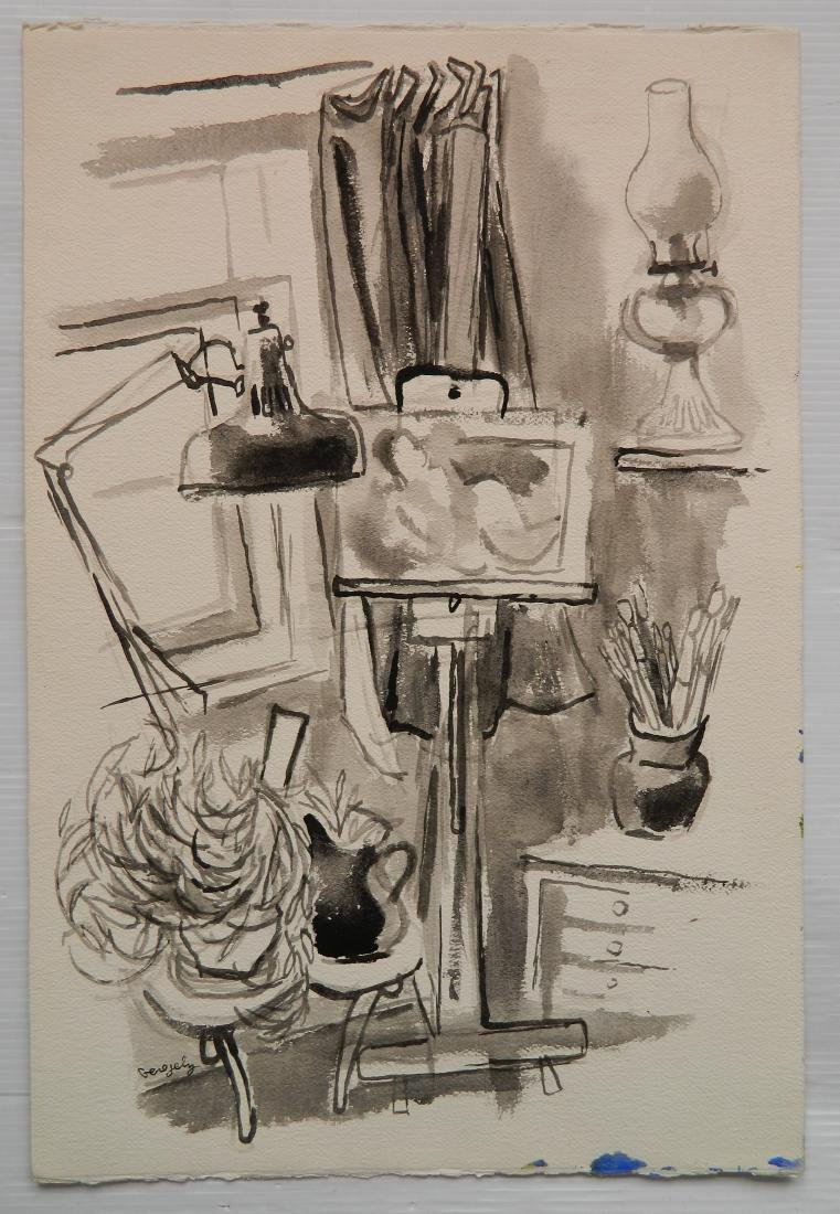 Tibor Gergely 5 works - 8