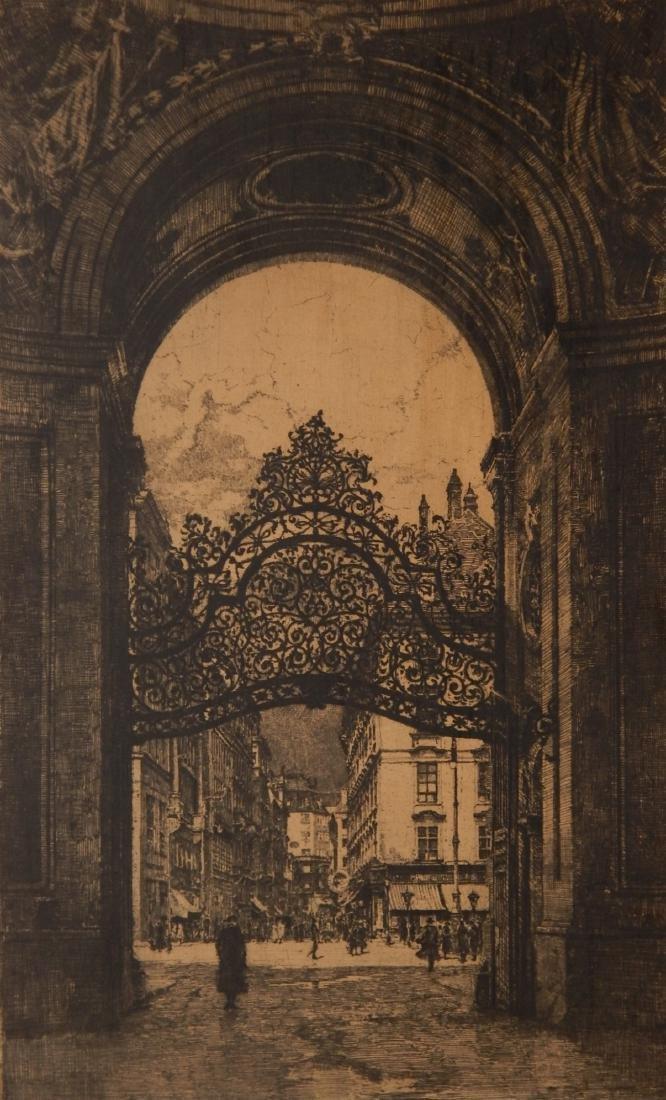Luigi Kasimir etching
