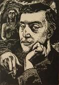 Georges Daniel Monfreid woodcut