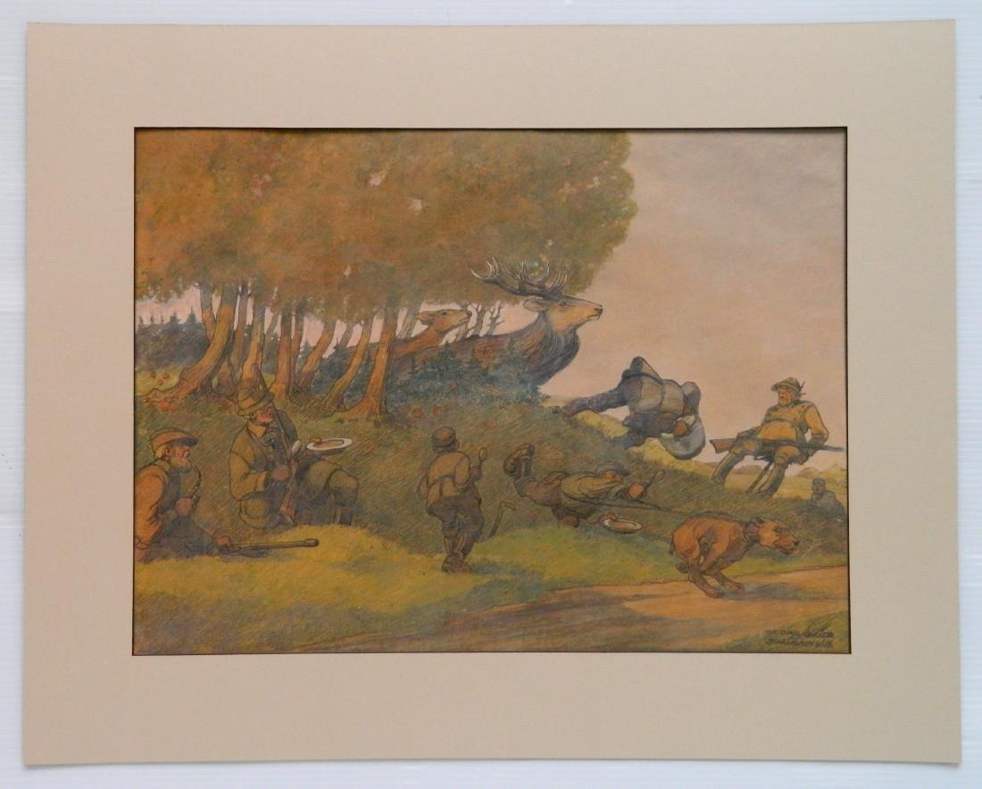 Georg Schutz color pencil and pastel - 2