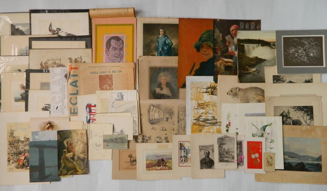 Large lot of works on paper - 4
