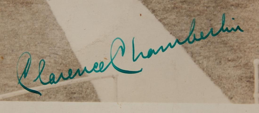 Aviation autographed photograph - 3