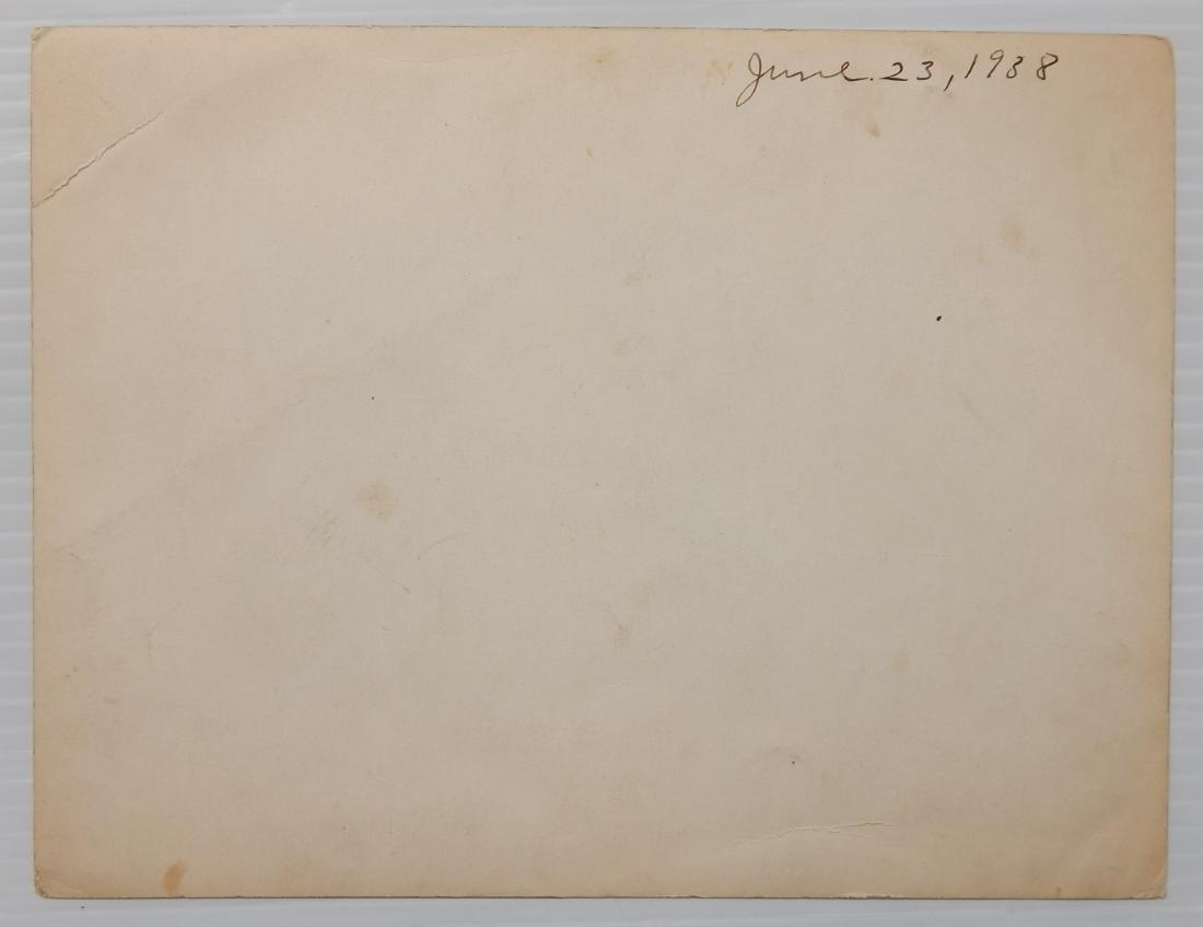 Aviation autographed photograph - 4
