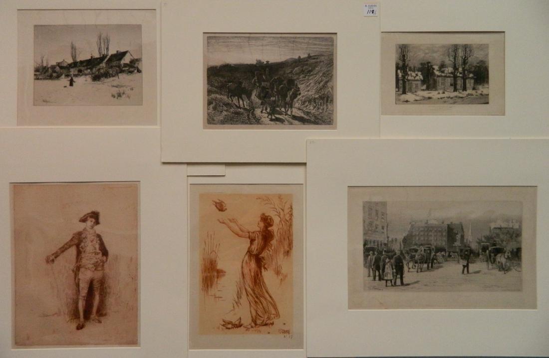 6 American prints