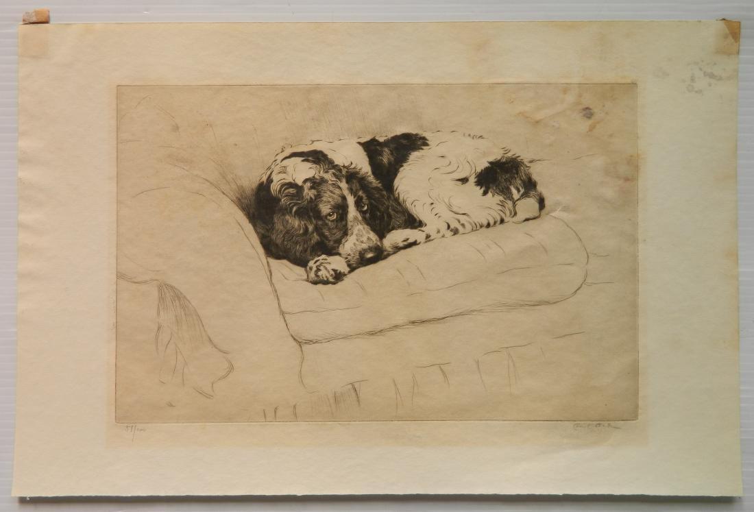Cecil Alden etching - 2