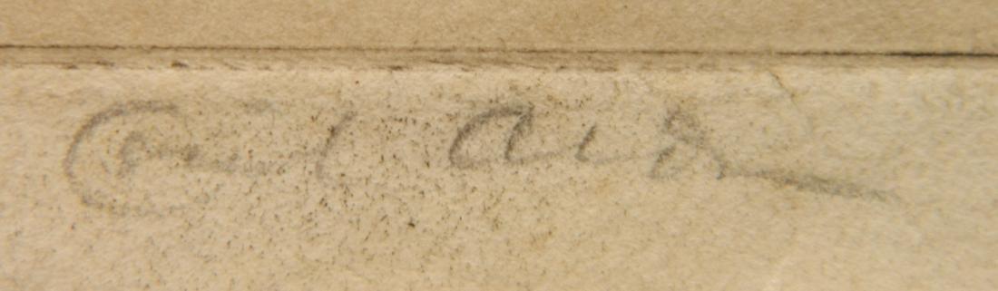 Cecil Alden etching - 3