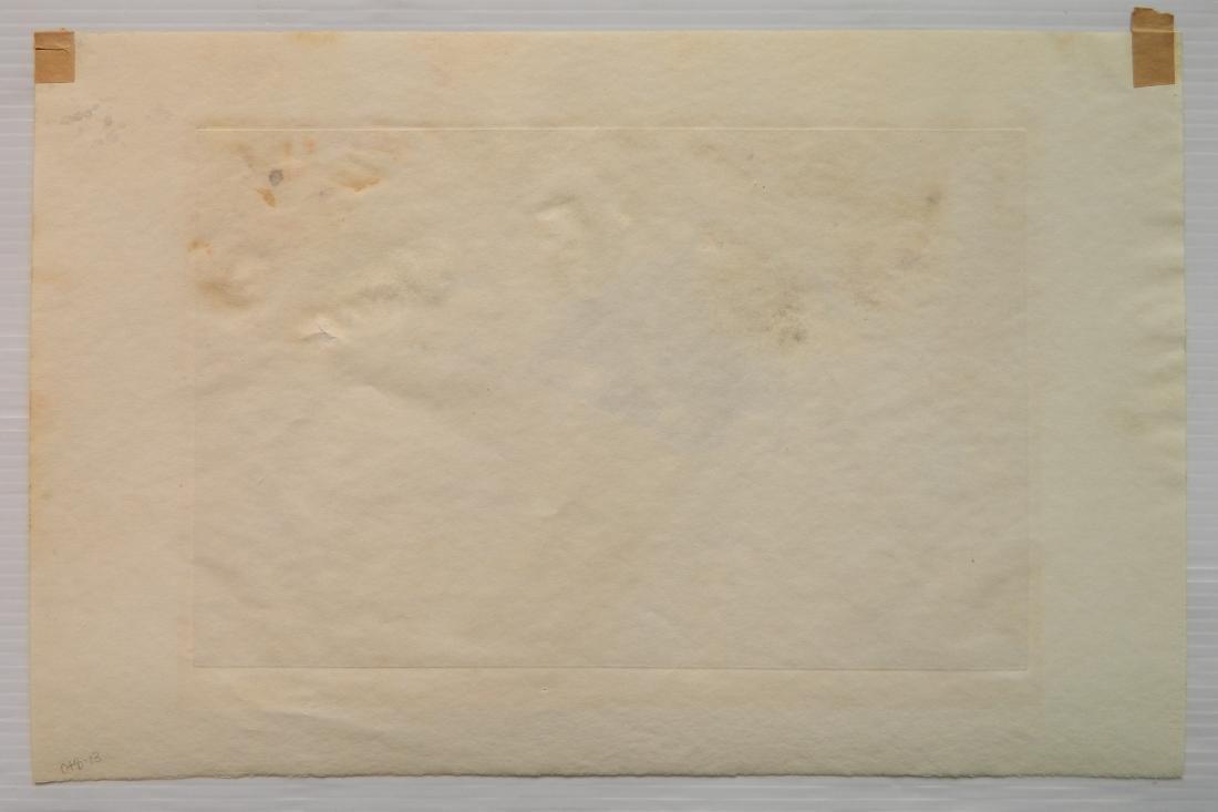 Cecil Alden etching - 4