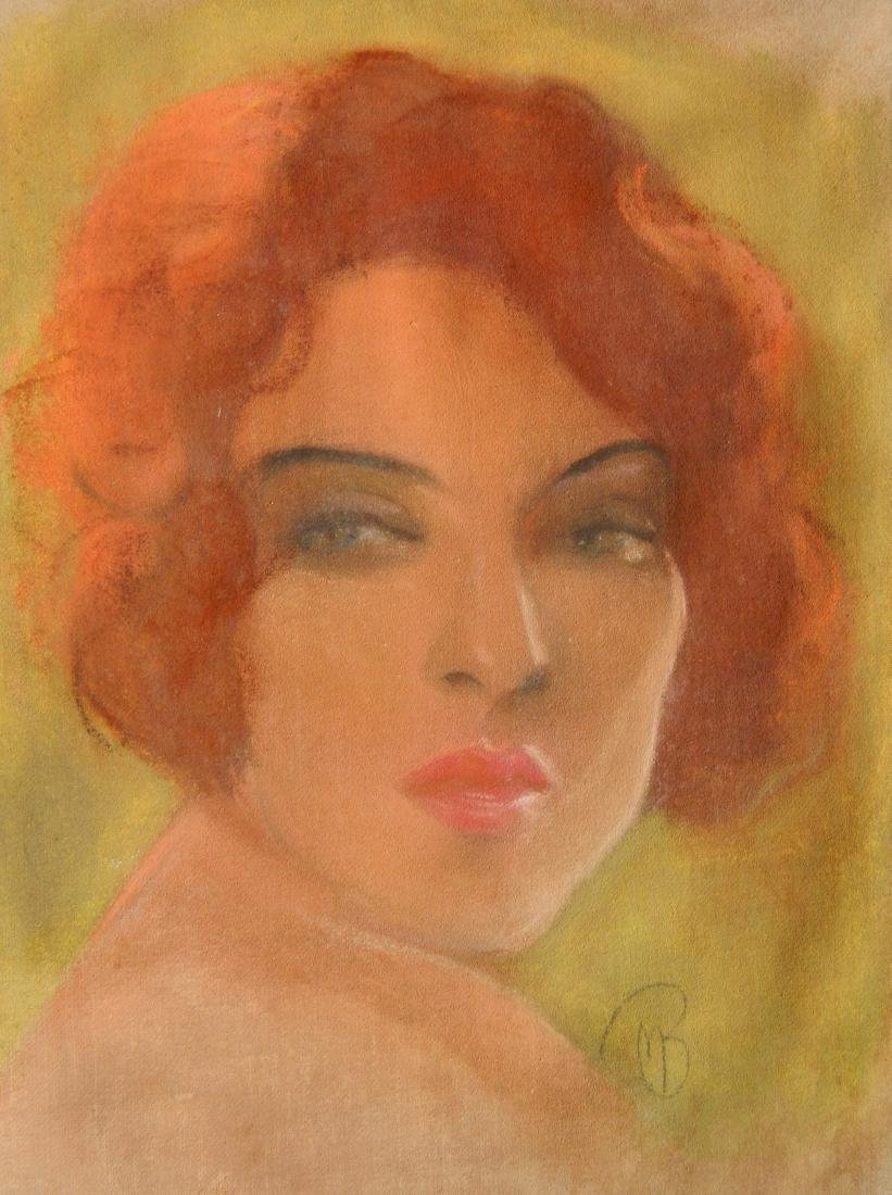 Attr. to McClelland Barclay pastel
