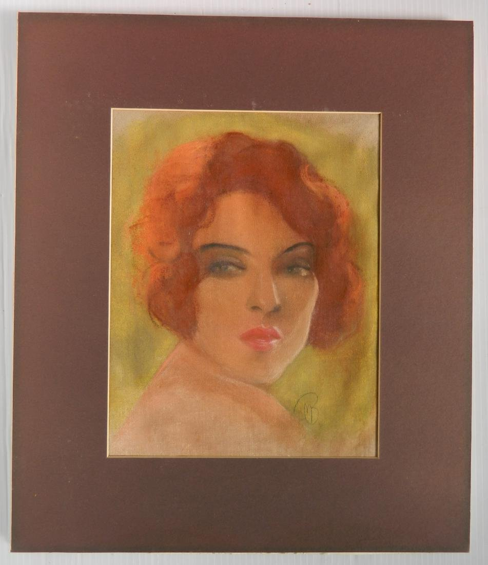 Attr. to McClelland Barclay pastel - 2