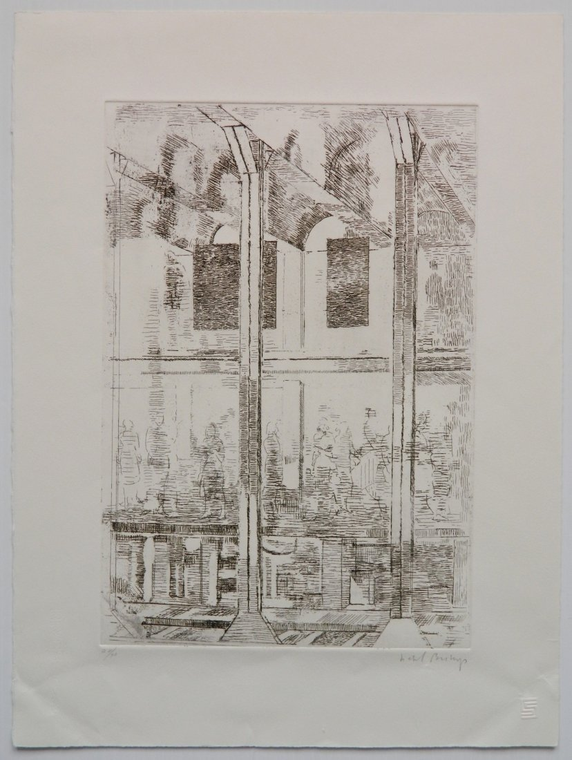 Isabel Bishop etching - 5