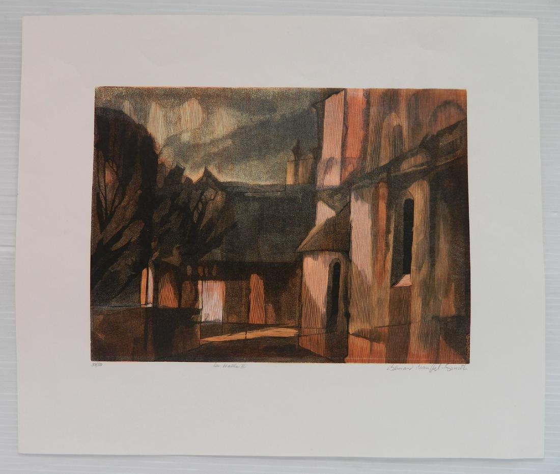 Bernard Brussell Smith 3 wood engravings - 5