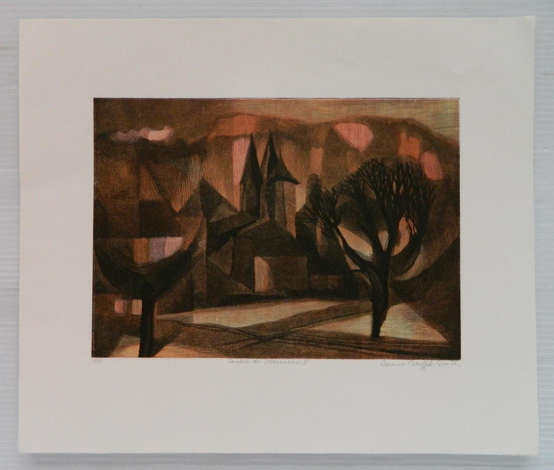 Bernard Brussell Smith 3 wood engravings - 6
