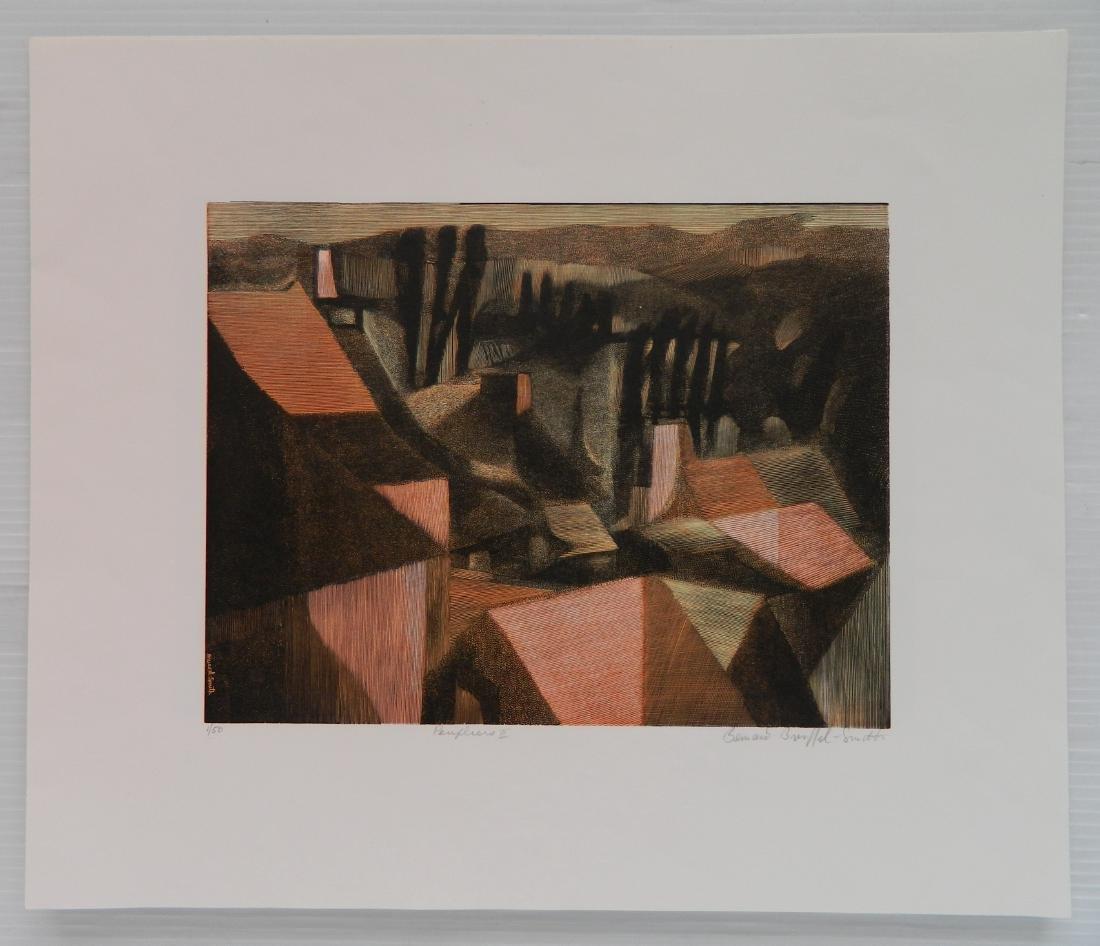 Bernard Brussell Smith 3 wood engravings - 7