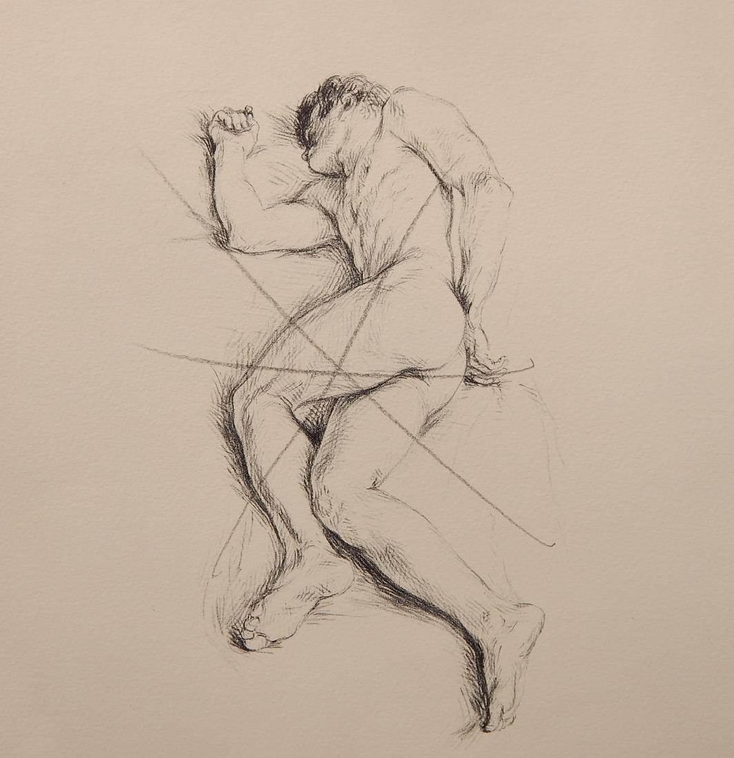 Paul Cadmus lithograph