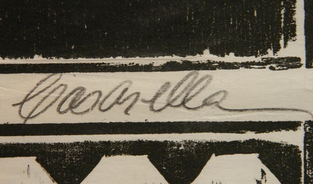 Edmond Casarella woodcut - 3