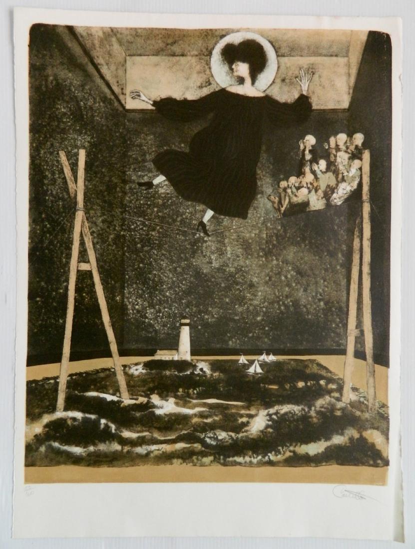 Federico Castellon 6 lithographs - 2
