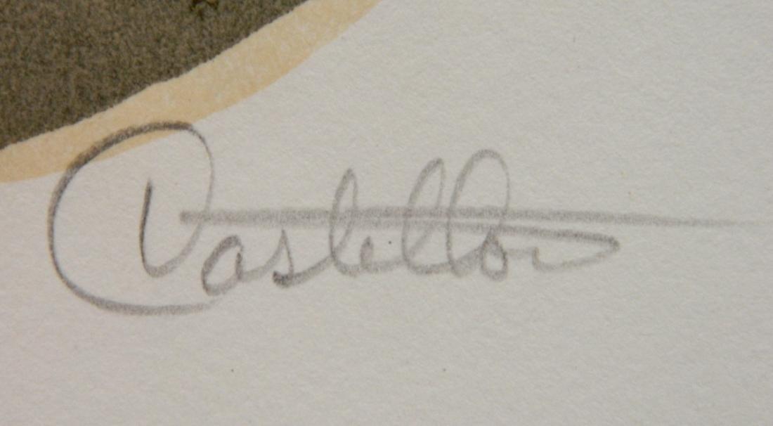 Federico Castellon 6 lithographs - 6