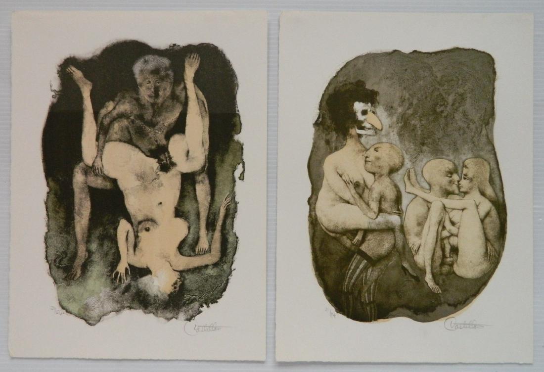 Federico Castellon 6 lithographs - 7