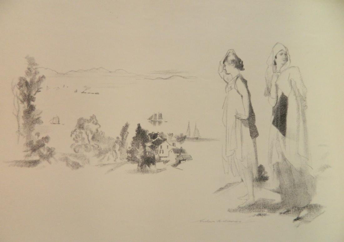 Arthur B. Davies lithograph