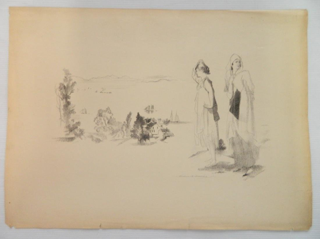 Arthur B. Davies lithograph - 2