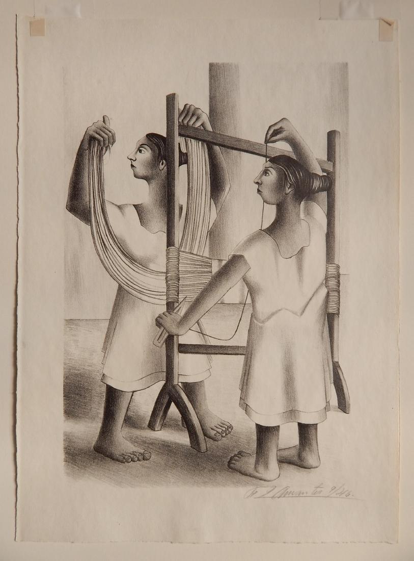 Francisco Dosamantes lithograph - 2